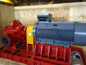 500kW splitcase pumpe brann slukking